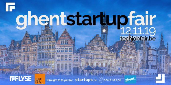 Banner Gent Start-up fair